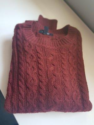 Pullover Zopfstrickmuster