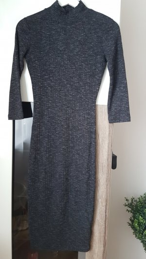 Amisu Sweater Dress anthracite
