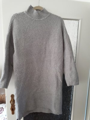 Amisu Sweater Dress grey mixture fibre