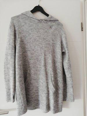 H&M Robe pull gris clair