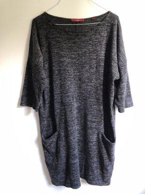 s.Oliver Abito maglione grigio scuro-grigio