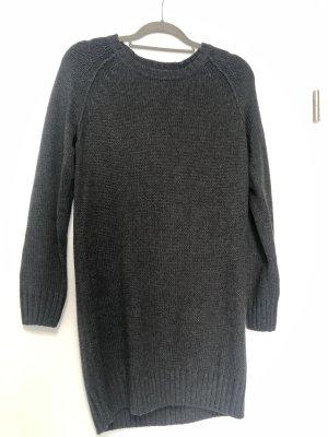 H&M Robe pull gris foncé-gris anthracite