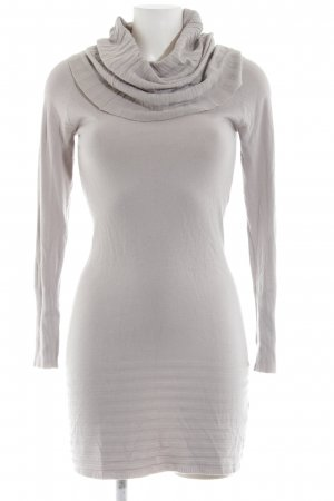 Robe pull gris clair style décontracté