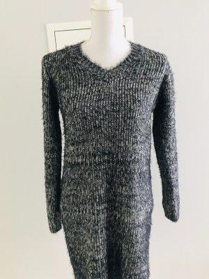 Abito maglione nero-antracite