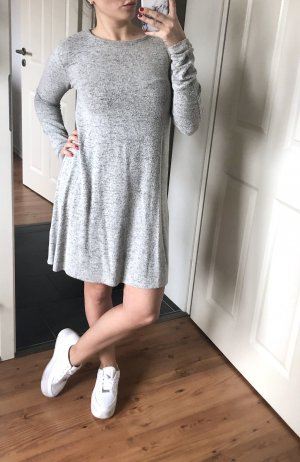 Pull & Bear Sweater Dress light grey-grey