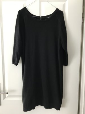 Wood Wood Sweater Dress black merino wool