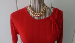 Vero Moda Vestido tipo jersey rojo