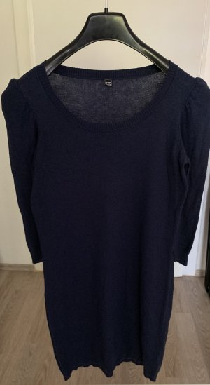 Pimkie Sweater Dress blue-dark blue