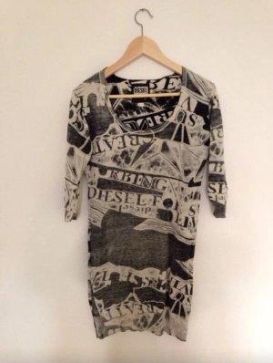 Pulloverkleid mit Print Diesel