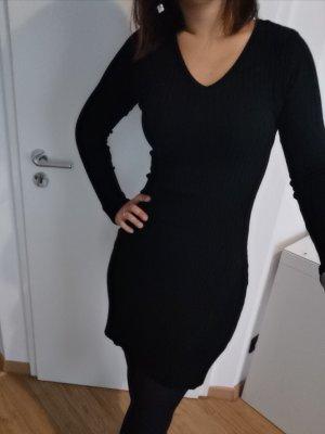 Abito maglione nero Cotone