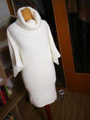 Mango Sweater Dress white