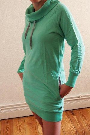 Wesc Sweater Dress mint-light grey cotton