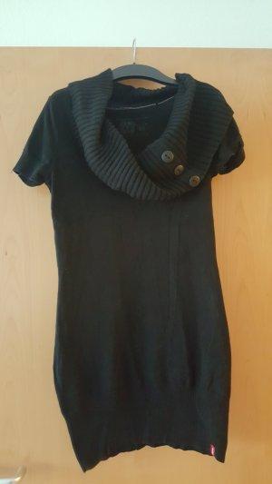 edc by Esprit Sweater Dress black cotton
