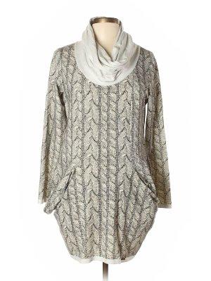 Pulloverkleid Sweatkleid Langarmkleid Herbstkleid Grau