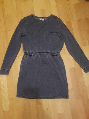 Twintip Sweater Dress dark blue