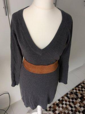 Pulloverkleid von Mango in grau