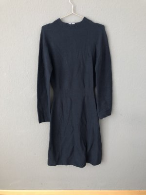 Uniqlo Robe pull bleu foncé