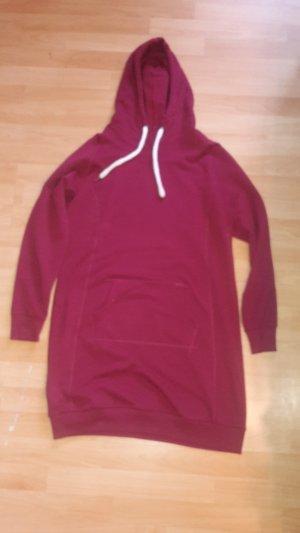 Blue Motion Sweater Dress dark red