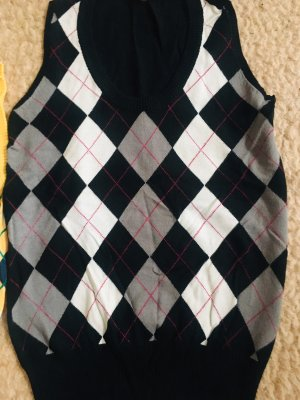 Review Cardigan en maille fine multicolore