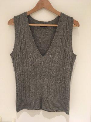 Gerry Weber Cardigan en maille fine gris-gris foncé laine