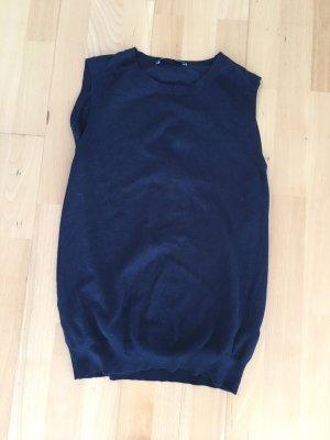 Zara Fine Knitted Cardigan dark blue