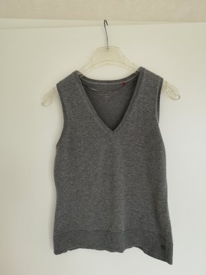s.Oliver Fine Knitted Cardigan grey
