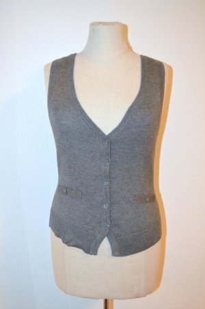 Pullunder Grey Wool XS Neu Etikett