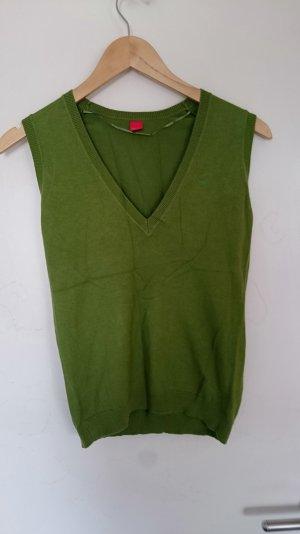 Pullunder in grün von Esprit Größe S