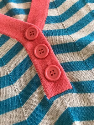 Vero Moda Cardigan en maille fine multicolore coton