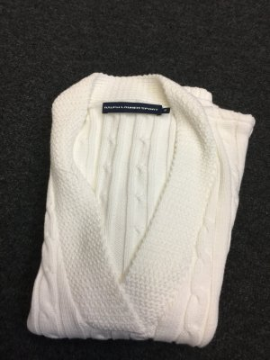 Ralph Lauren Sport Fine Knitted Cardigan white cotton