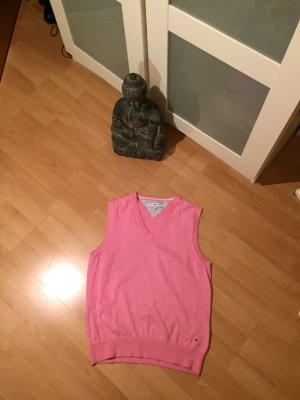 Pullunder V-Ausschnitt rosa Tommy Hilfiger