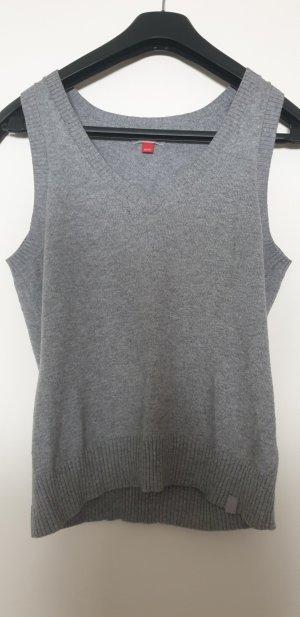 Esprit Cardigan en maille fine gris
