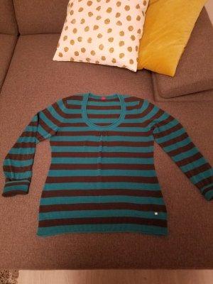 Esprit Sweater donkerbruin-groen
