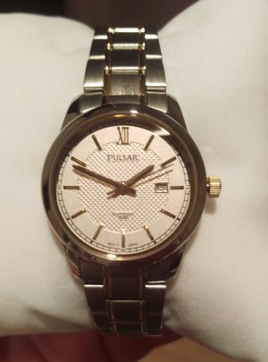 pulsar by seiko ph7401 damenuhr armbanduhr neu garantie