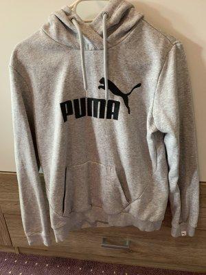 Puma Shirt met capuchon donkergrijs-lichtgrijs