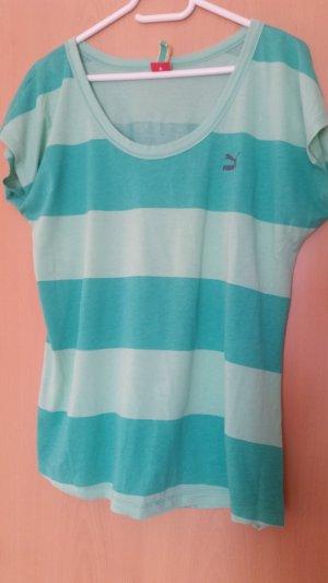 Puma T-Shirt green-mint