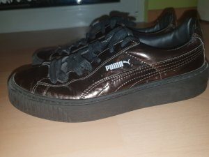 Puma Lace-Up Sneaker dark brown