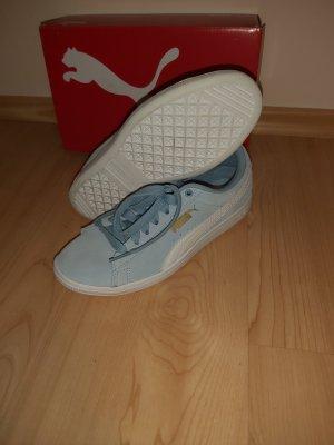 Puma Zapatillas con velcro azul celeste