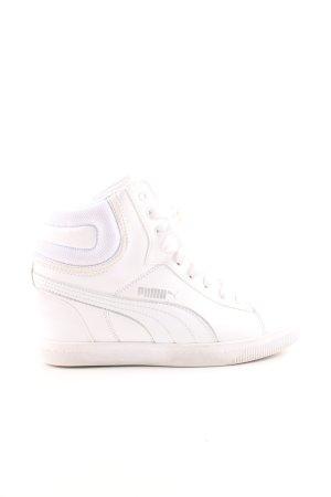 Puma Absatz Sneaker weiß Casual-Look
