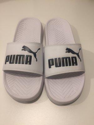 Puma Mules white