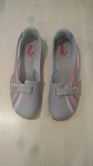 Puma Ballerinas Grau/Pink