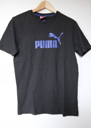 Puma Basic T-Shirt anthrazit