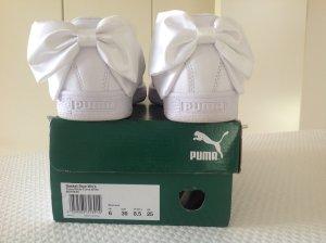 PUMA BASKET BOW WHITE Gr. 39 EU Schleife Sneaker