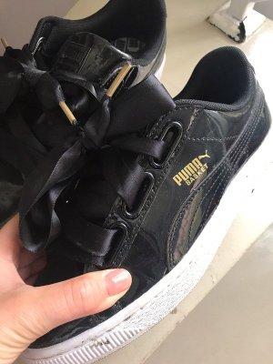 Puma basket Größe 37 Schwarz Lack Sneaker Fenty