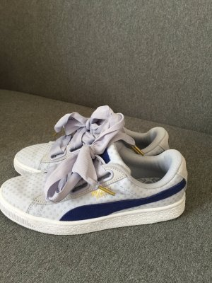 PUMA Basket Heart Denim halogen blue/twilight blue