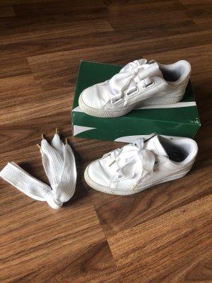 Puma Basket Heart Hart Sneaker White
