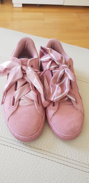 puma Basket heart rosa 37,7 4,5 neu