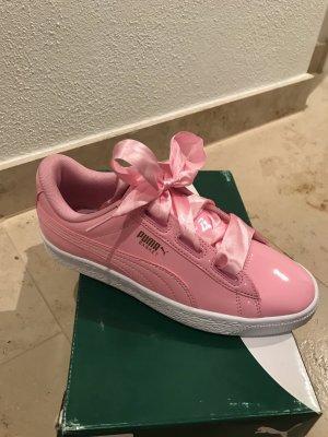 Puma basket Heart rosa pink