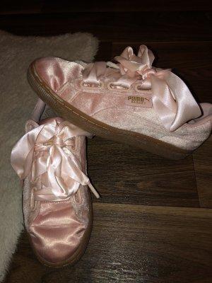 Puma basket heart rosa Schuhe
