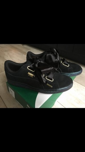 Puma Basket Heart Satin Wn's Black